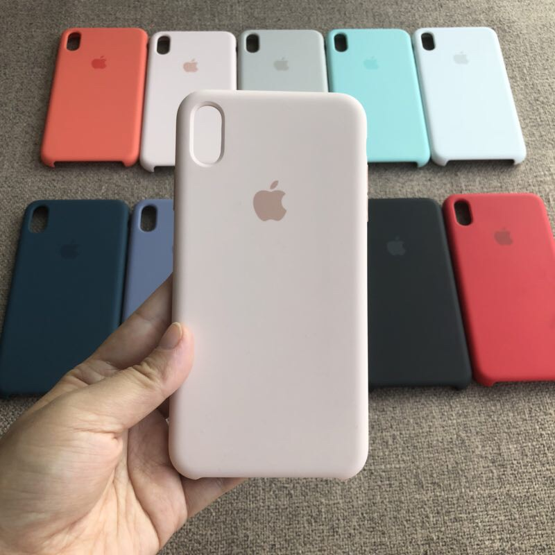 Ốp lưng iPhone XS Max silicone case