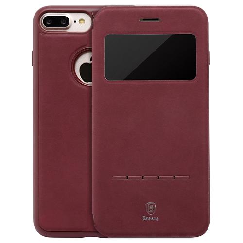 bao da iphone 7 plus chính hãng baseus da mềm