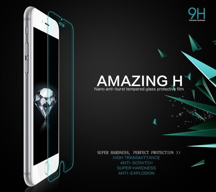 Kính cường lực Iphone 7 độ cứng 9H cứng nhất Nillkin