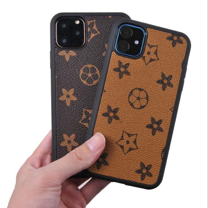 Ốp lưng da iPhone 11 pro max thiết kế LV sang trọng