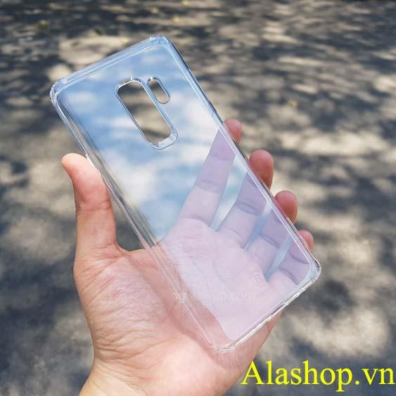 ốp lưng Galaxy S9 dẻo trong suốt chống sốc