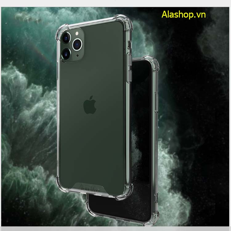 Ốp lưng iPhone 11 | 11 Pro Max trong suốt chống sốc