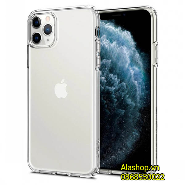 Ốp lưng iPhone 11 Pro Max Spigen Crystal trong suốt (Mỹ)