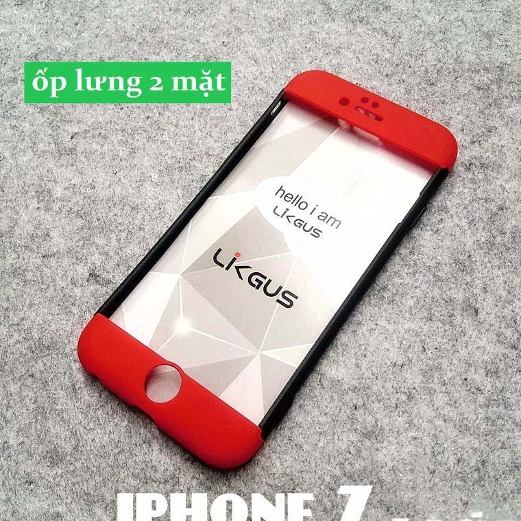 ốp lưng iphone 7 bảo vệ 360 độ Likgus