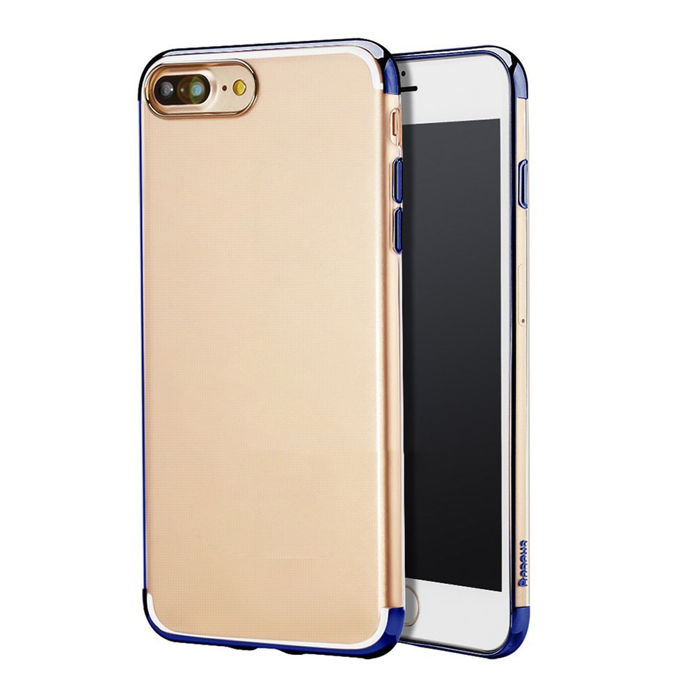 Ốp lưng iPhone 7  trong suốt viền mạ sáng hiệu Baseus cao cấp