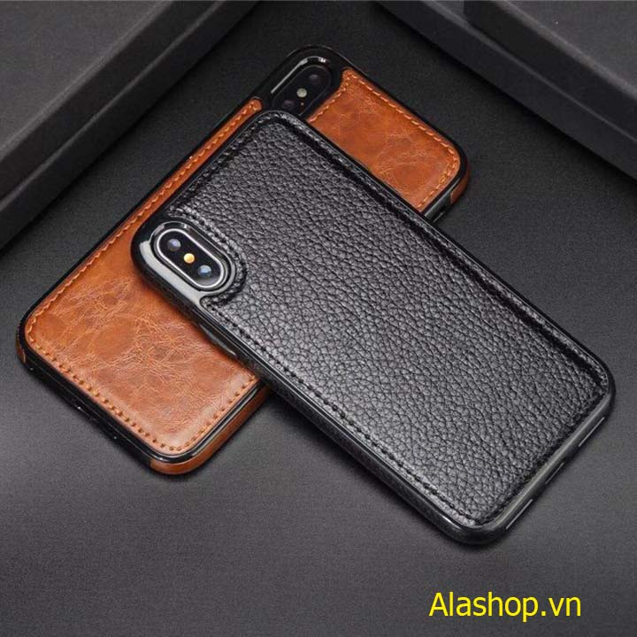 Ốp lưng iPhone 8 Plus 7 plus bọc da cao cấp