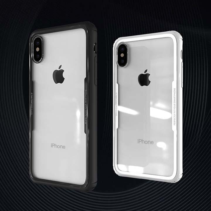 Ốp lưng iPhone X lưng kính cường lực 9H