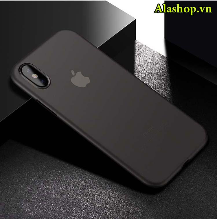 ốp lưng iphone x siêu mỏng 0,4mm