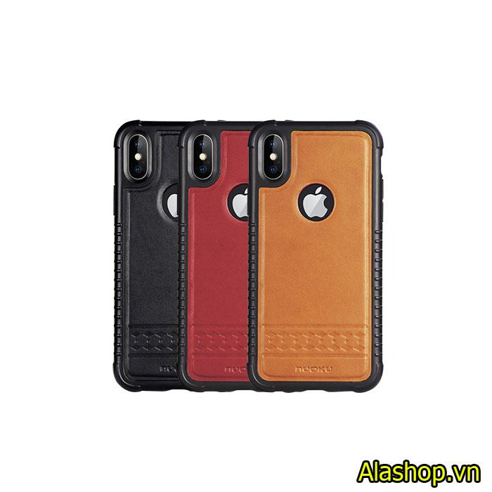 Ốp lưng iphone XS Max bọc da chống sốc