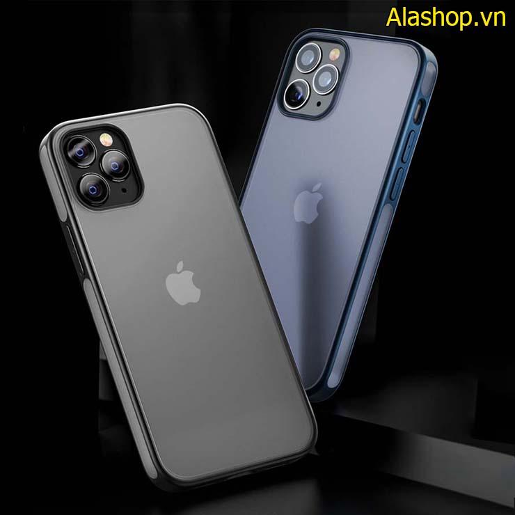 Ốp lưng nhám iPhone 12 pro max chống sốc