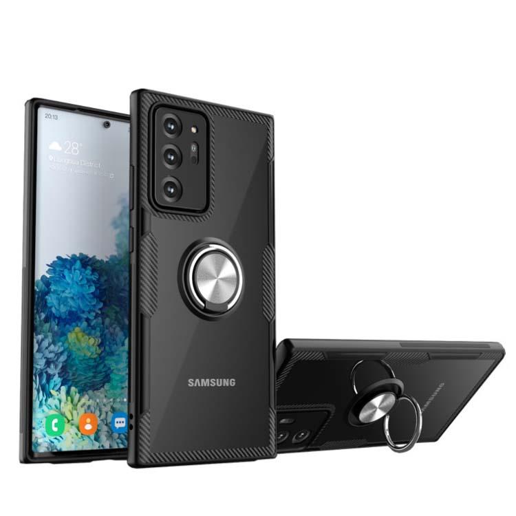Ốp lưng Samsung Note 20 Ultra 5G iring trong suốt kết hợp carbon