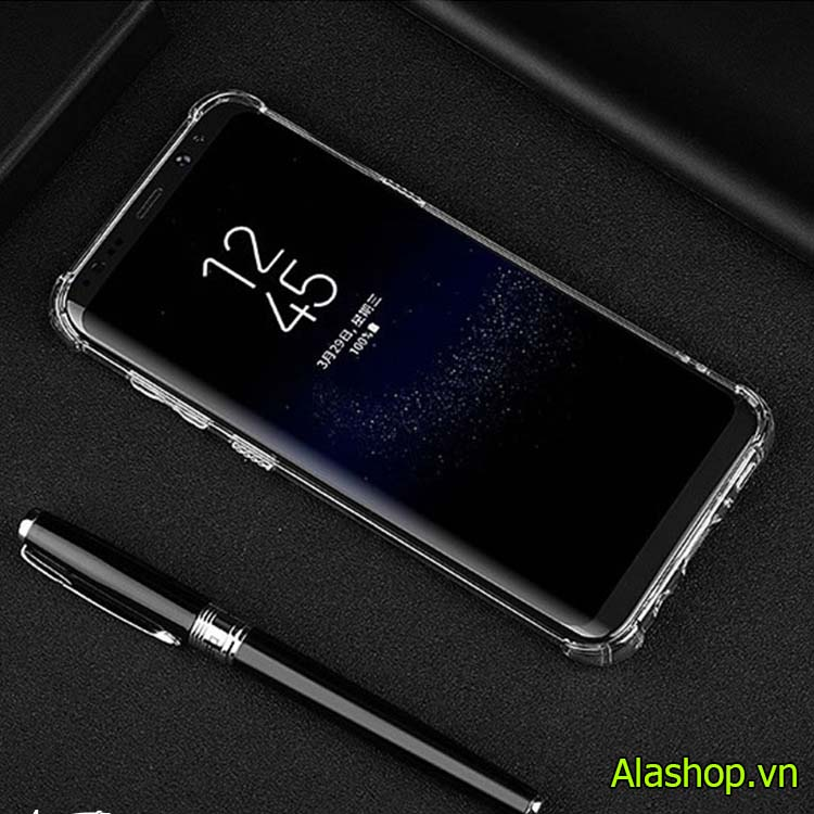 Ốp lưng samsung S10E trong suốt chống sốc