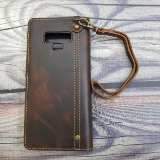 Bao da Samsung Note 9 da bò dạng ví cao cấp