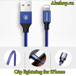 Cáp Lightning 3D iPhone x/ 8/7/6plus/ iPad dây dù