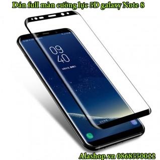 Dán kính cường lực galaxy Note 8 full màn hình 5D độ cứng 9H