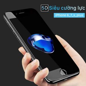 Kính cường lực 5D iPhone 6 plus, 6s plus thế hệ mới