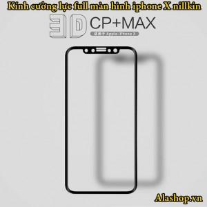 kính cường lực iphone XS X full màn hình nillkin 3D CP+Max