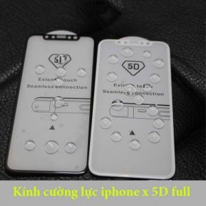 Kính cường lực iPhone x xịn 5D full màn hình