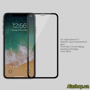 Kính cường lực iPhone XS max 3D CP+ max chính hãng Nillkin