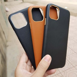 Ốp lưng da iPhone 11 Leather cao cấp