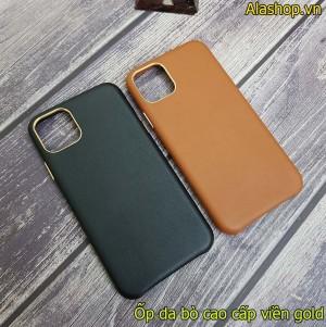 Ốp lưng da iPhone 11 Pro Leather cao cấp