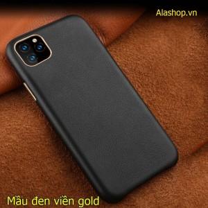 Ốp lưng da iPhone 11 Pro Max Leather cao cấp
