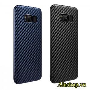 Ốp lưng Galaxy S8 Plus siêu mỏng vân cacbon 3D