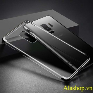 ốp lưng Galaxy S9 trong suốt mạ crom Glitter