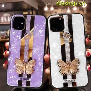 Ốp lưng iPhone 11 pro max cánh bướm đính đá
