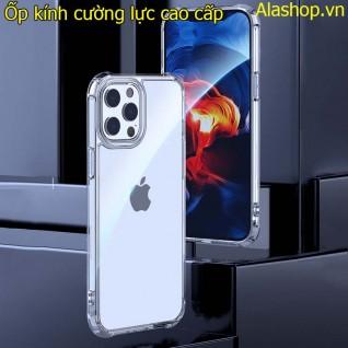 Ốp lưng iPhone 12 pro max kính cường lực cao cấp không ố vàng