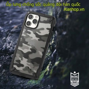 Ốp lưng iPhone 12 pro max Ringke Fusion X Camo Hàn Quốc