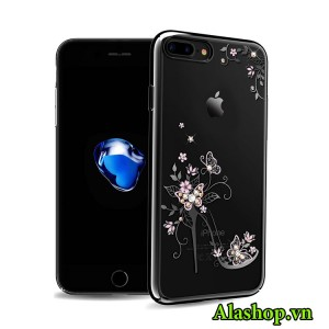 Ốp lưng iPhone 7 hài công chúa đính đá