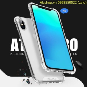 Ốp lưng iPhone  8 Plus/ 7 Plus trong suốt chống sốc
