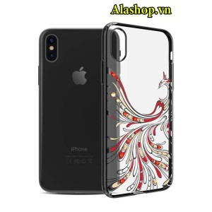ốp lưng iPhone x phượng hoàng đính đá cao cấp