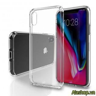 Ốp lưng iPhone X trong suốt chống va đập