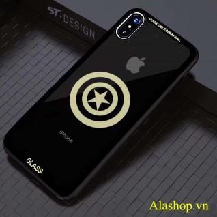 ốp lưng iPhone X trong suốt kính cường lực