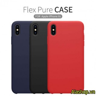 Ốp lưng iphone XS max silicone Flex Nillkin