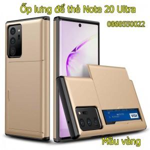 Ốp lưng samsung Note 20 Ultra 5G để thẻ chống va đập