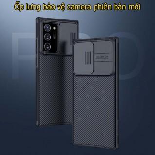 Ốp lưng samsung Note 20 Ultra Black Mirror bảo vệ camera