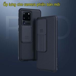 Ốp lưng samsung S20 Ultra Black Mirror bảo vệ camera