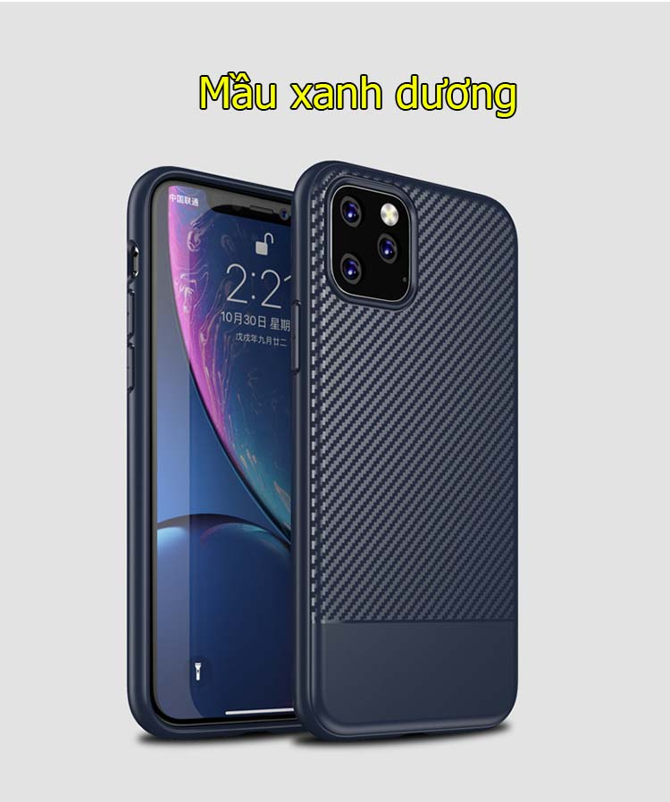 Ốp lưng iPhone 11 pro max carbon fiber